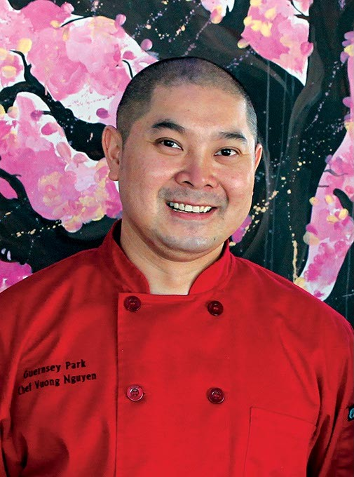 Daniel Pham Vuong Nguyen and Jason Heald Guernsey Park Chefs - HEATHER BROWN