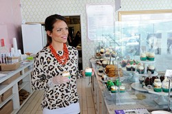 Owner Tiffany Magness at Green Goodies in Oklahoma City, Tuesday, Dec. 23, 2014. - GARETT FISBECK