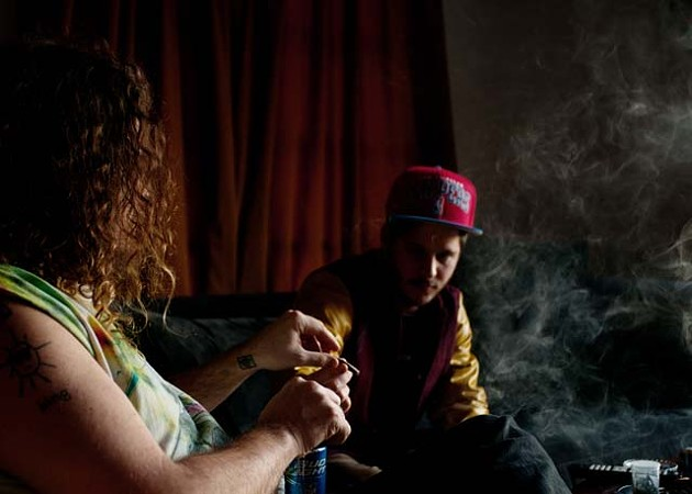 Best Gratuitous Use of an Illegal Substance — Wavves: Nathan Williams