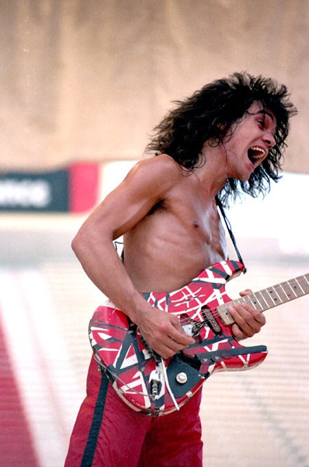 Van Halen rocks Owen Field during the original Rocklahoma festival in September 1980. (Ronnie Green / Provided)