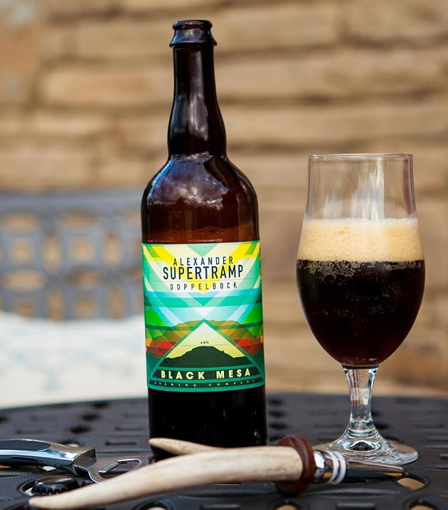 One of Black Mesa's Limited Release beers: Alexander Supertramp (provided)