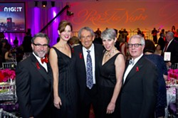 Chip Fudge, Shannon Fudge, Eddie Sutton, Mary Ellen Gumerson, Bill Gumerson. Photo/Shannon - SHANNON