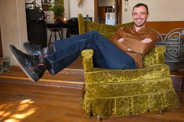 James Hammontree poses for a photo at his home in Oklahoma City, Friday, Jan. 16, 2015. - GARETT FISBECK