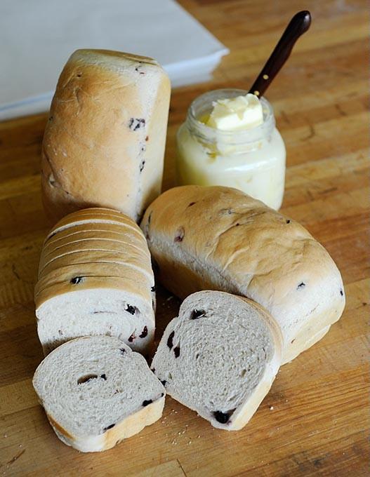 Blueberry cranberry bread at Big Sky Bread Co. in Oklahoma City, Friday, Sept. 18, 2015. - GARETT FISBECK