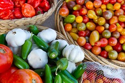 10 Acre Woods in Norman provides a large crop of heirloo0om tomatoes, peppers and an assortment of other produce.Photo/Shannon Cornman - SHANNON CORNMAN