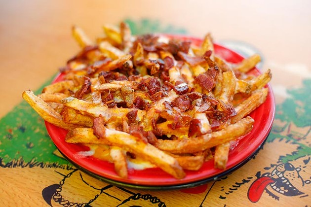 Bacon cheese fries (Garett Fisbeck)