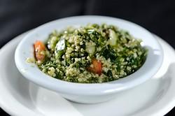 Tabouli salad at Jamil's Steakhouse in Oklahoma City, Tuesday, Jan. 6, 2015. - GARETT FISBECK