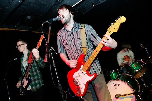 The Pizza Thieves perform at The Opolis during Norman Music Festival, Thursday, April 23, 2015. (Garett Fisbeck)