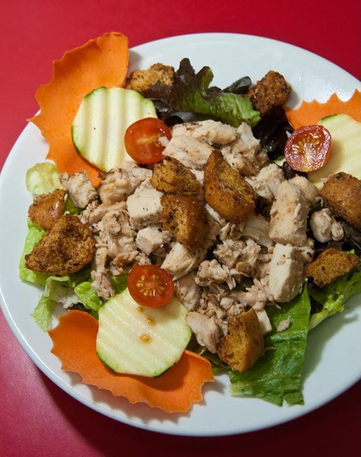 Mesquite chicken salad at City Bites, 6001 N. May Ave. (Mark Hancock)