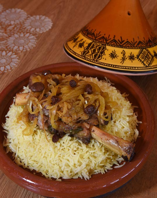 Lamb Tagine at Cous Cous Cafe at 6165 N. May Ave.  mh