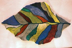 Felted Wool Leaf by E.K. Jeong - PROVIDED