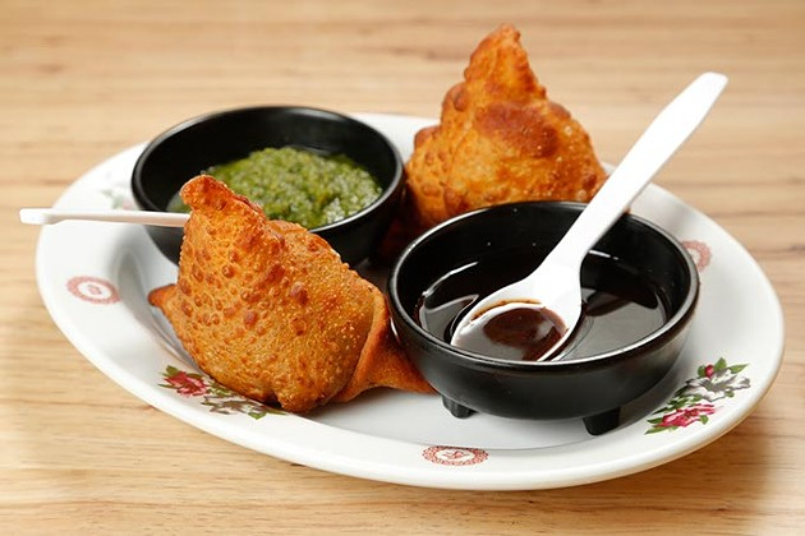 Samosas at Manna Indian Cuisine in Oklahoma City, Thursday, July 16, 2015. - GARETT FISBECK