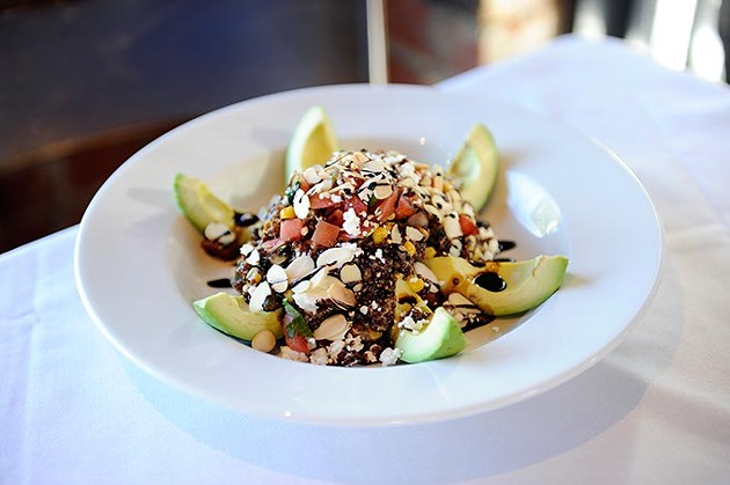 Quinoa and avocado salad at Cheever's in Oklahoma City, Monday, Jan. 26, 2105. - GARETT FISBECK
