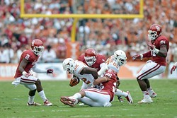 The 2014 Red River Showdown game. (Jerry Laizure / Provided)