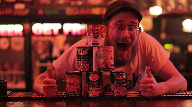 Can for a Can drive at Drunken Fry (provided)