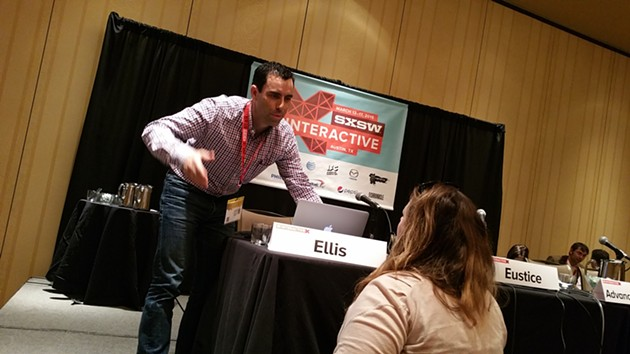Jay Ellis is a Program Dir of M-TRAC Transportation at the University of Michigan and was a panelist during a forum on self-driving cars at SXSW. - BEN FELDER