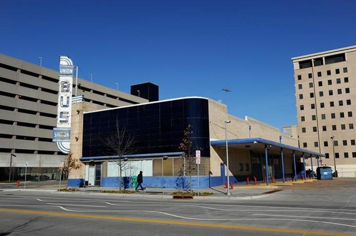 The abandoned Union Bus Station in Oklahoma City, Tuesday, Jan. 13, 2015. - GARETT FISBECK