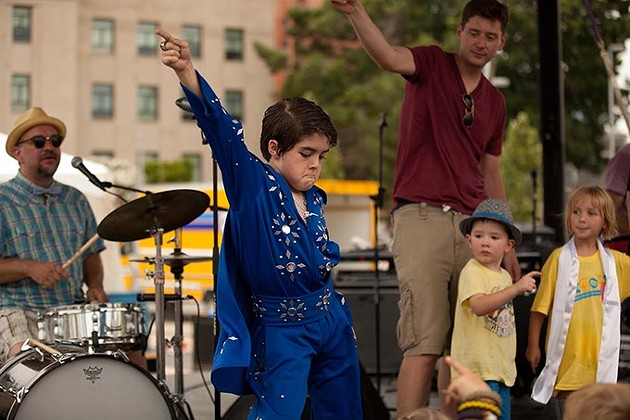 Kids again have an opportunity to Wiggle Out Loud like a rock star.