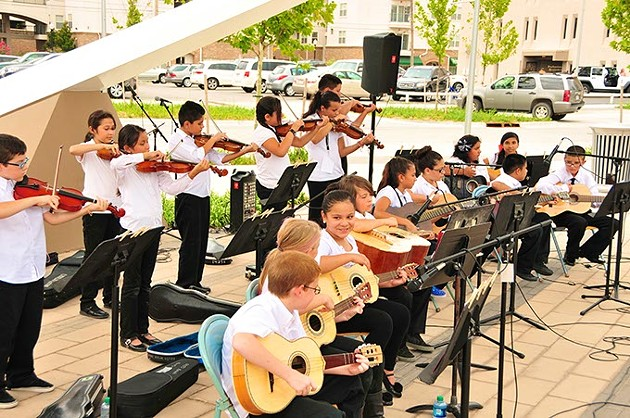 Kids perform at last year's Wiggle Out Loud event.