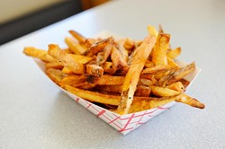 French fries at Patty Wagon Burgers, 3600 N. May Ave. (Garett Fisbeck)