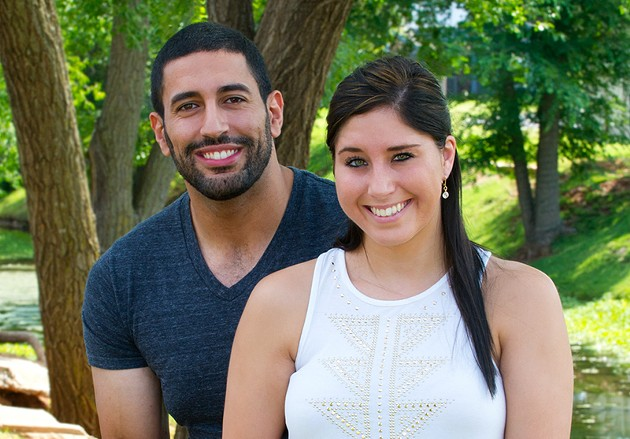 Cydney Dixon, an Evangelical Luthern and Samer Alkahder a Muslim with their Bibles, find balance in life as husband and wife. - SHANNON CORNMAN