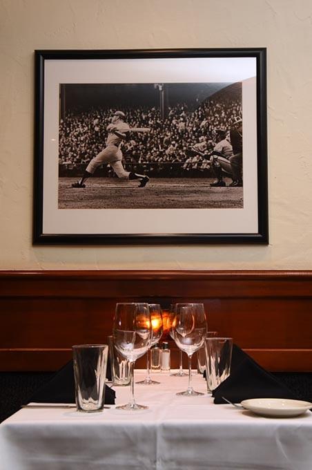 Mickey Mantle's Steakhouse dining room, 2-6-2015, Bricktown, Oklahoma City. - MARK HANCOCK