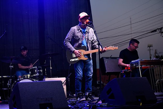 Travis Linville performs at Norman Music Festival 9 in Norman, Friday, April 22, 2016. - GARETT FISBECK