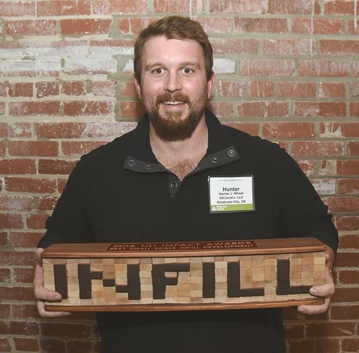 Bleu Garten's Hunter Wheat won an award for best small scale infill development. - MARK HANCOCK