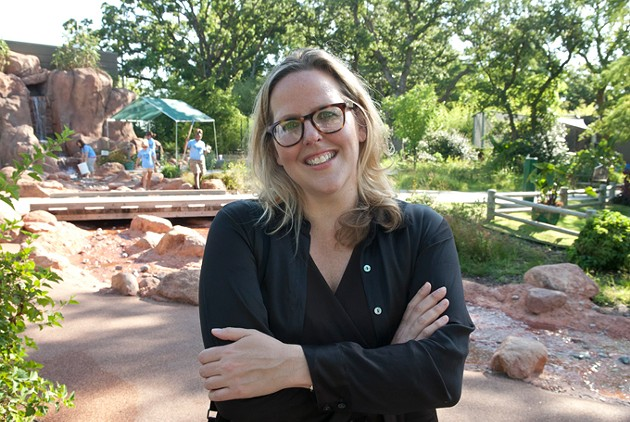 Louisa McCune-Elmore, executive director for the Kirkpatrick Foundation at the Oklahoma City Zoo in this 1012 file photo.  mh