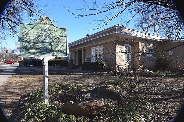 Jacobson House Native Art Center, 2-8-16, 609 Chautauqua Avenue, Norman Oklahoma. - MARK HANCOCK