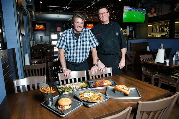 Five Star Grille owner Don Elliott and chef Jon Pope (Garett Fisbeck)