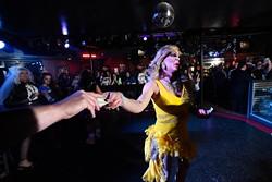 Taylor Bryans performs during The Gender Bender Lipstick Revue at Phoenix Rising,. (Garett Fisbeck)