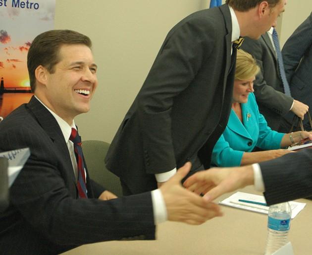 Shane Jett is running as a Republican in the 5th Congressional district race. Photo/Ben Felder - BEN FELDER