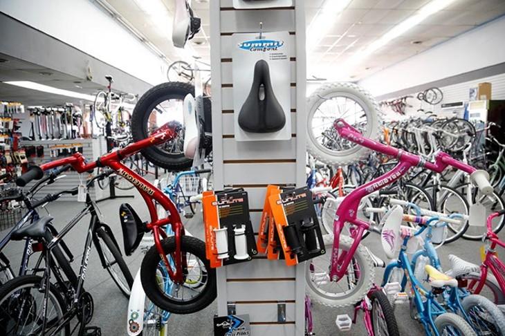 Al's Bicycles in Oklahoma City, Wednesday, June 24, 2015. - GARETT FISBECK