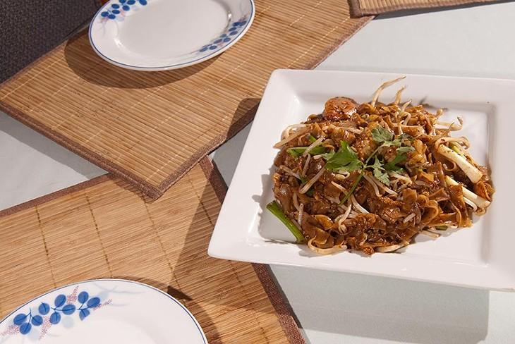 Char Kuch Teow dish at Banana Island. (Mark Hancock)