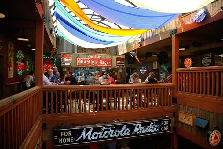 Customers dine at Eskimo Joe's in Stillwater. (Garett Fisbeck)
