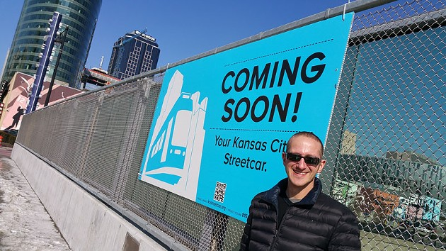 David Johnson of the Kansas City Streetcar Authority offered a tour of KC's new downtown line that is similar in size to one planned for Oklahoma City. - BEN FELDER