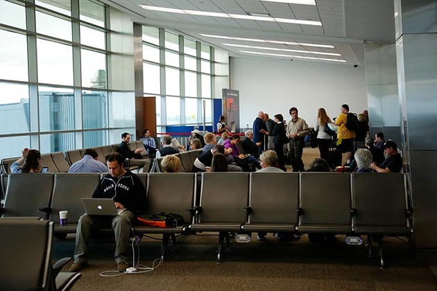 Terminal at Will Rogers World Airport in Oklahoma City, Wednesday, April 15, 2015. - GARETT FISBECK