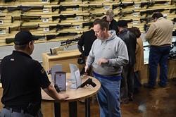 Wilshire Gun Range Grand Opening, 11-14-14.  mh
