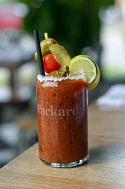 Bloody Mary at Packard's, Thursday, June 30, 2016. - GARETT FISBECK