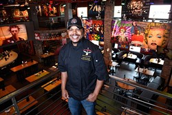 Rock & Brews executive chef Deallo Frazier is excited to unveil his jalapeño bacon mac & cheese balls during restaurant week. (Garett Fisbeck)