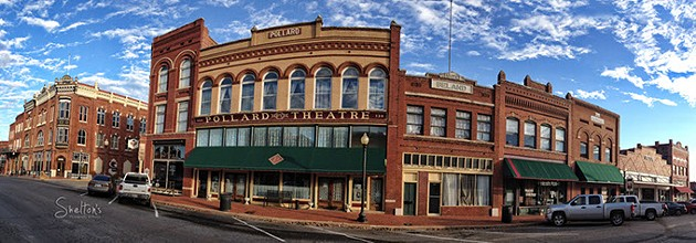 The Pollard Theatre in Guthrie celebrates performing arts in Guthrie's growing arts district, located in historic downtown. (Shelton's Photography & Design / provided)