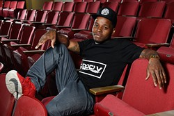 Jabee found support from hip-hop icon Chuck D, who contributed to the local rapper's new album. (Garett Fisbeck)