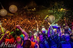 """Up to 8,000 people are expected to attend this year's Gathering of the Juggalos each day of its four-day stay in Oklahoma. (Dustin """"Hazin"""" Lane / Cherry Bomb / provided)"""