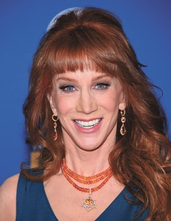LOS ANGELES - FEB 06:  Kathy Griffin arrives to the Directors Guild Awards 2016  on February 06, 2016 in Century City, CA. - BIGSTOCK