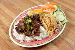 Com Tam Bi, Thit Nuong, Cha at Lang's Bakery, Monday, May 9, 2016. - GARETT FISBECK