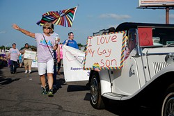 "OKC Pride's theme for 2017 is ""30 years of resistance."" The nonprofit organization is celebrating 30 years of Pride celebrations this year. (Garett Fisbeck / file)"