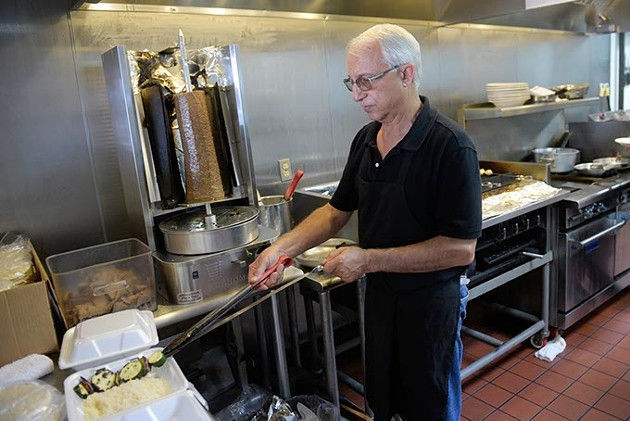 Iranian-born Fred Foroozan said it took time for locals to open up to Turkish and Persian cuisine at The Mediterranean Grill. (Garett FIsbeck)