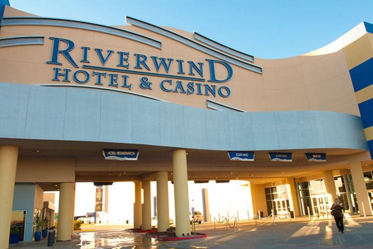 Riverwind Casino, 2013.  mh