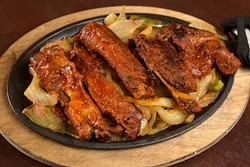 Costillas a la parrilla tarahumara at Tarahumara's in Norman, Monday, Oct. 31, 2016. - GARETT FISBECK